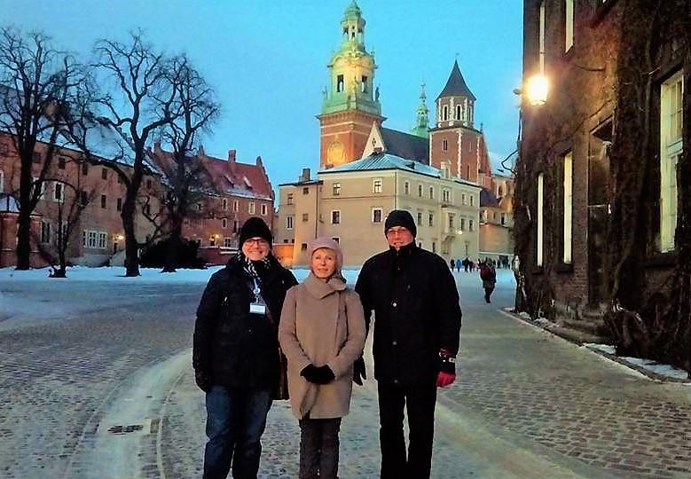 wycieczka dla babci i dziadka po Krakowie