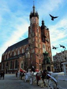 Zwiedzanie Rynku Głównego i Kościoła Miariackiego z przewodnikiem Kraków
