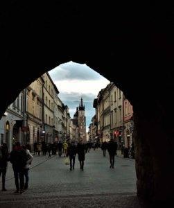 Brama Floliańska Kraków zwiedzanie z przewodnikiem Kraków