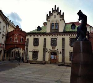 Zaułek zakochanych w Krakowie