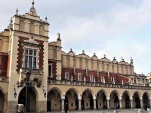 Sykiennice na Rynku Głównym w Krakowie