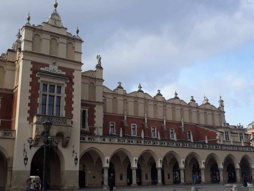 Sukiennice na krakowskim rynku